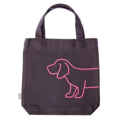 Stofftascherl mit Dackel