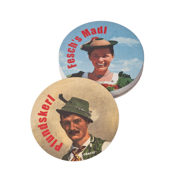 Bierdeckel-Set