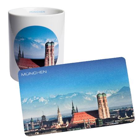 Tasse & Frühstücksbrettl - München